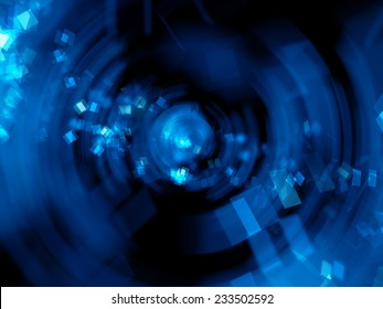 abstract background in circle shape, Digitally Generated Image.