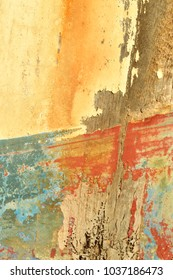 Abstract Background Closeup Of Old Abandoned Ship