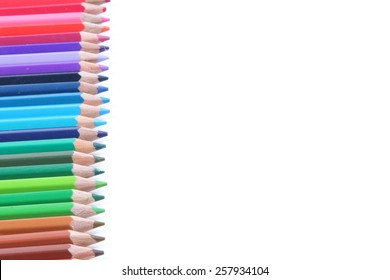 Abstract background from color pencils