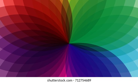 abstract background with colorful of fantastic flowers.