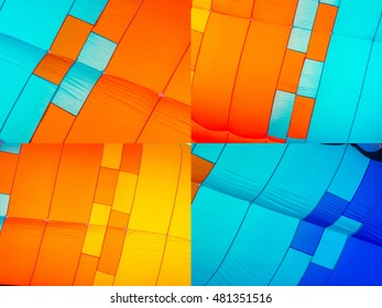 Abstract background of colorful squares