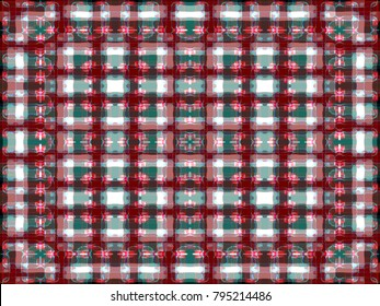 abstract background   colorful tartan pattern   vintage gingham texture   geometric intersecting striped illustration for wallpaper interior fabric garment gift wrapping paper graphic concept design