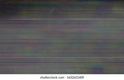 abstract background with copy space for text, old tv scan line monitor for glitch overlay