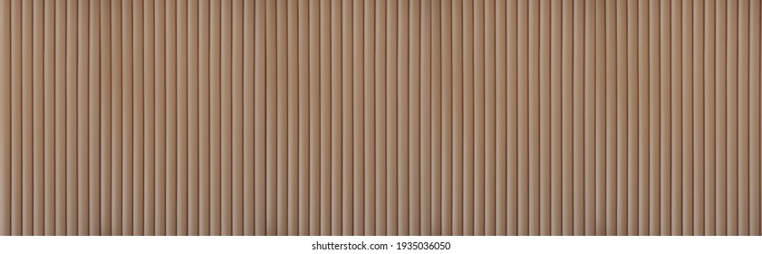 Abstract background Corrugated paper brown color