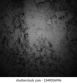Abstract background dark vignette border frame with gray texture background. Vintage grunge background styles.