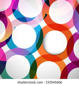 Abstract background with design elements.