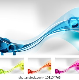 an abstract background design in four colors