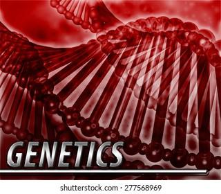 Abstract background digital collage concept illustration genetics genes