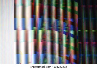 Abstract background of a digital glitch./ Digital glitch