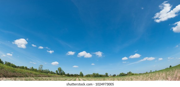 abstract background exterior view looking toward to the cloudy sky with full of light , Blurry perspective of scene ready to show