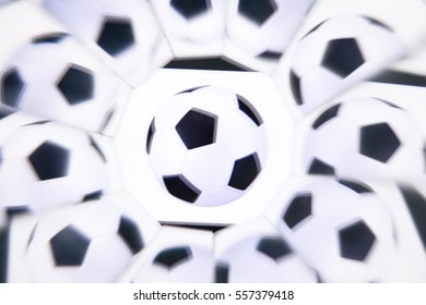 Abstract background, football