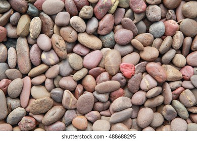 abstract background of gravel stones texture