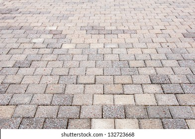 Abstract background - gray paving slabs in the form of squares.