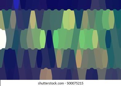 abstract background. green mosaic illustration digital.