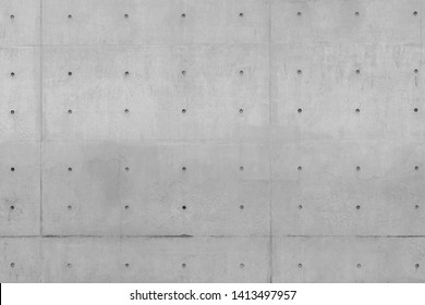 Abstract background from grey concrete texture on wall. Vintage and retro backdrop. Loft style wallpaper.