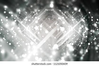 Abstract background illustration beautiful grey glitter.