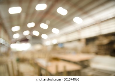 Abstract background of industrial furniture factory