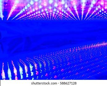Abstract background from LED phototherapy