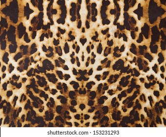 abstract background with leopard texture