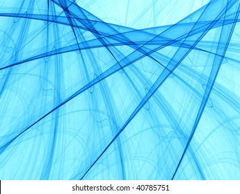 Abstract background made of curved lines blend of similar motifs rotated