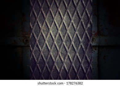 abstract background metal plate