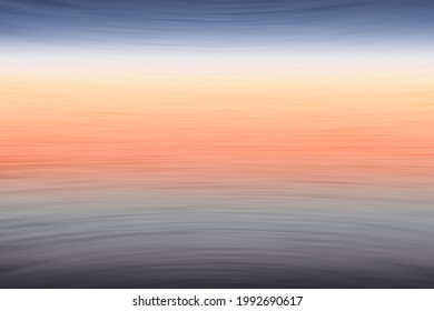 Abstract background with motion blur and colors reminiscent of sunset over the sea