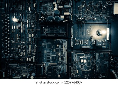 abstract background, multi circuit board, semiconductor industry, main board