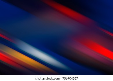 Abstract Background - Multicolored Diagonal Lines. Blurred background. Design Element. Bright Colors. Red, Blue,Orange.