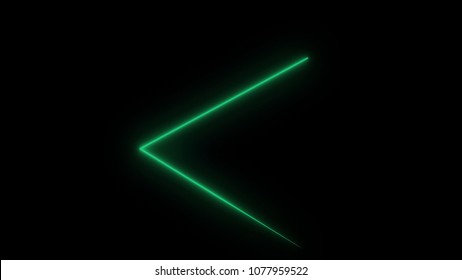 Abstract background with neon triangles. Seamless loop. Neon Triangular Electric Techno Lights. Blue and Pink Laser beams with grid. Seamless loop