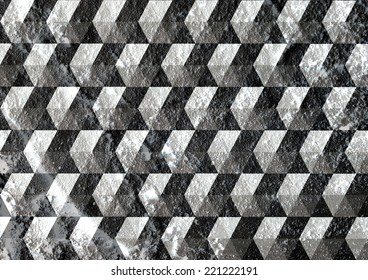 Abstract background on Cement wall texture design