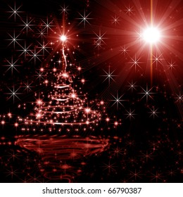 Abstract background on the new background. Christmas and New Year