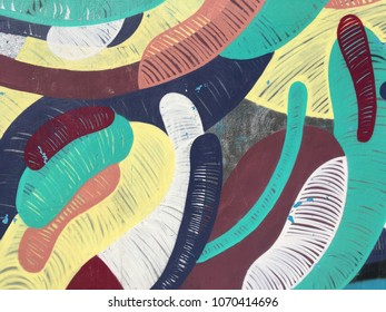 abstract background on the wall