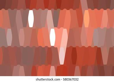 abstract background. orange mosaic. illustration digital.