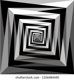 Abstract background pattern with spirally, vortex effect