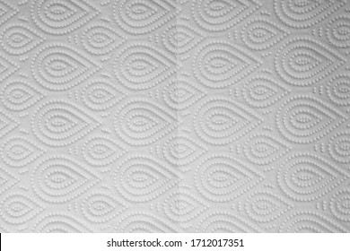 abstract background with patterns on toilet paper for background.