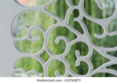 Abstract background of plastic ornament texture.