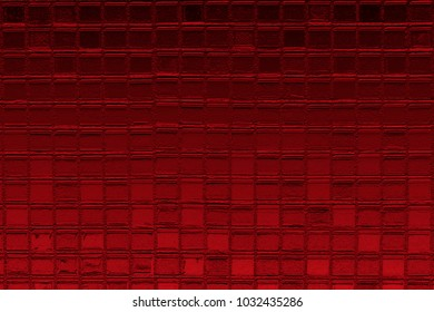 Abstract background red mosaic