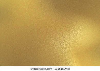 Abstract background, reflection rough gold metal texture