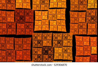 Abstract background with a repeating pattern woven. Fractal