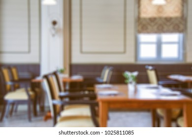 Abstract background of restaurant