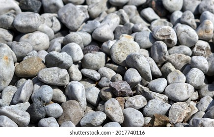 abstract background with round pebble stones. Vacation holiday recreation on beach concept. High quality photo