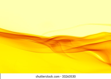 abstract background in shades of yellow