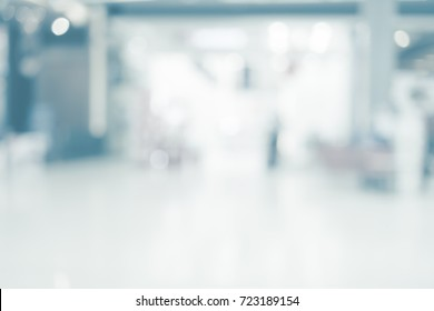 Abstract background of shopping mall,blurred backgrouds defocused concept