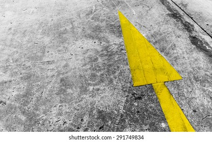 Abstract background of Sign on street
