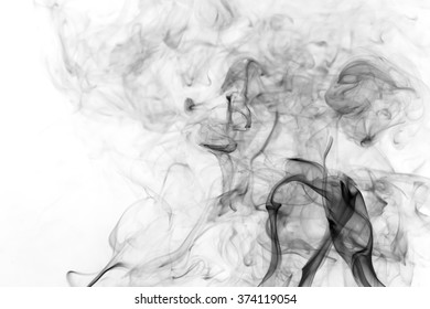 abstract background smoke curves and wave