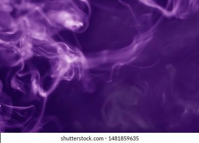 Abstract background smoke purple blur