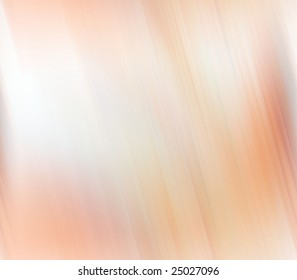 Abstract Background -  Soft peach tones in motion blur against white
