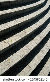 abstract background of stairs with shadow