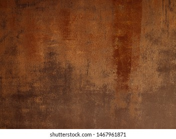 Abstract background, steel with rust and rough surface Suitable for use in the work, the graphic design, laying letters