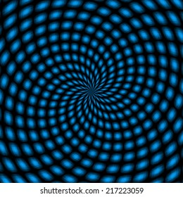 Abstract background with swirl concentric pattern